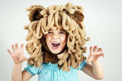 Déguisement enfant lion