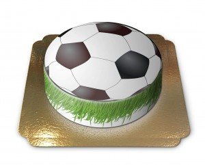 gateau ballon foot